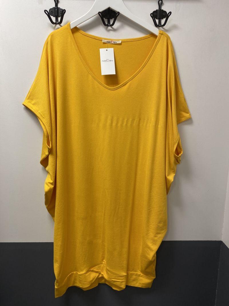 Denevér kismama ruha ru. sárga
