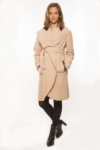 Marita kismama kabát beige