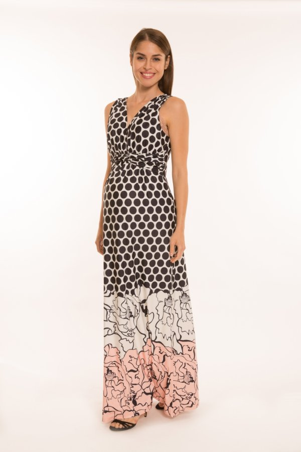 Mia kismama ruha hosszú mintás