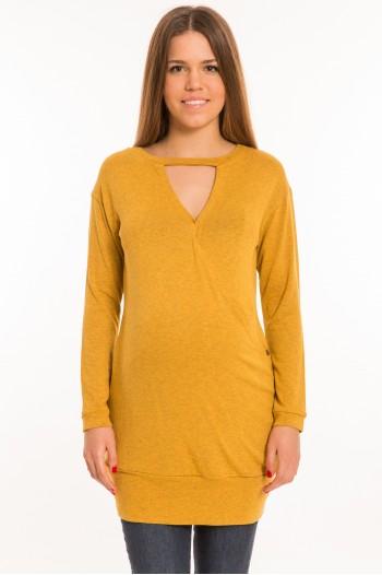Rozi kismama -  tunika sárga