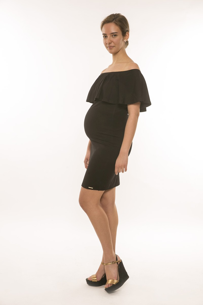 Spanyol kismama ruha fekete