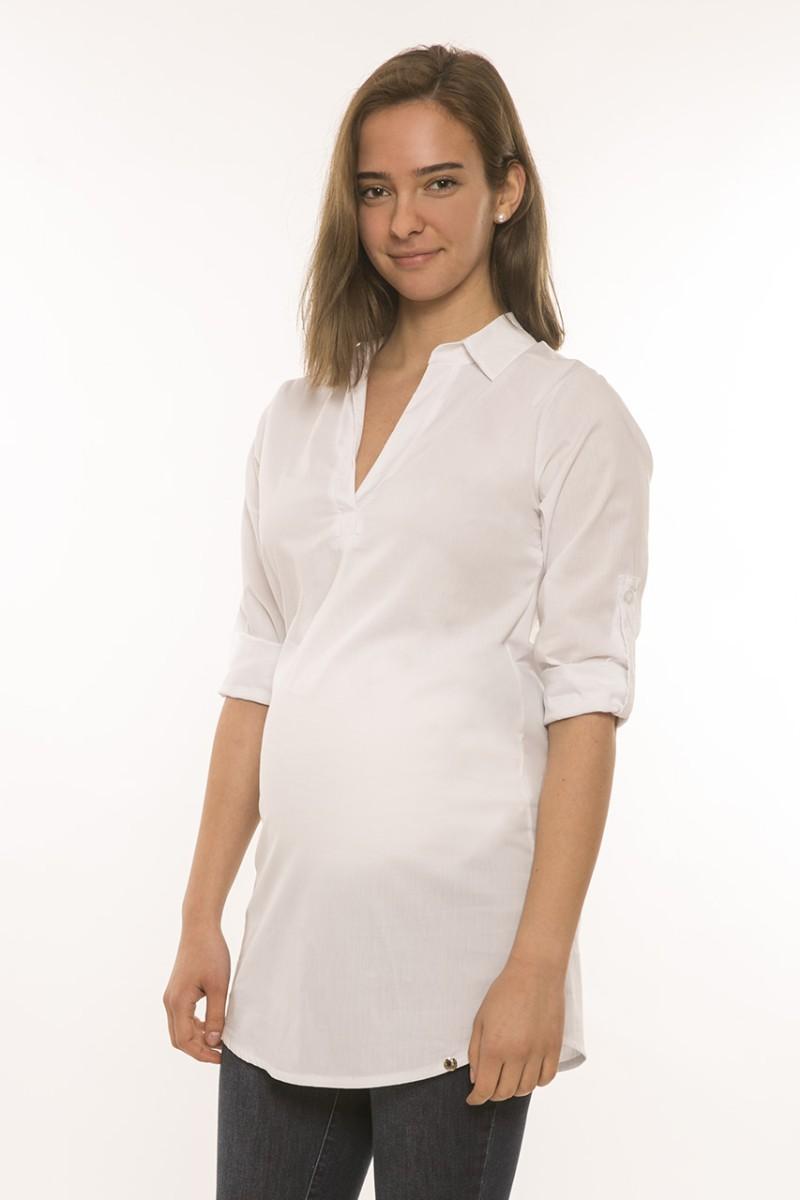 Lotti kismama blúz fehér | Blúzok | HelloBaby Collection